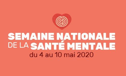 Semaine nationale de la santé mentale