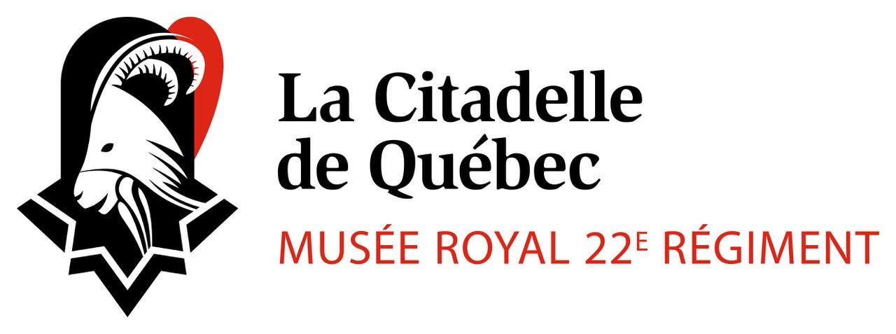 Logo  citadelle de Québec - Régie du 22e régiment